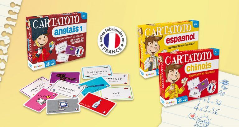 Jeux Cartatoto pour apprendre en s'amusant