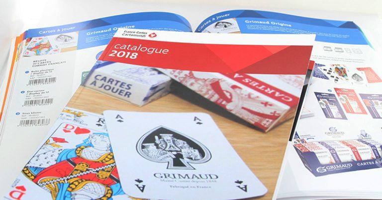 Catalogue retail 2018 France Cartes Cartamundi : jeux de société, jeux traditionnels, jeux de cartes, jeux éducatifs, jeux pour enfants, accessoires, cartomancie, magie, cartes à collectionner