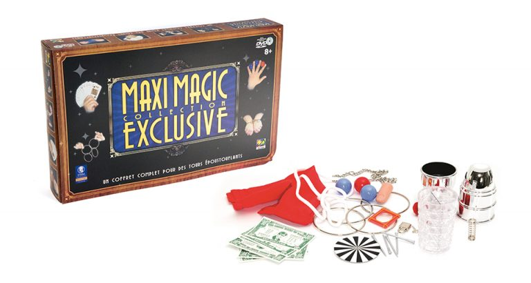 Coffrets de magie Maxi Magic Exclusive