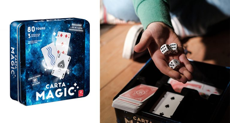 Jeux de cartes Carta Magic pour devenir un apprenti magicien