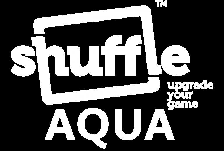 Logo Shuffle AQUA