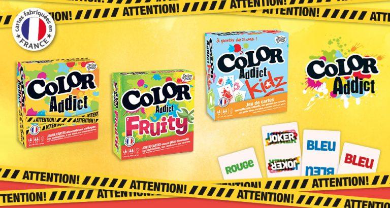 Gamme de Drôles de Jeux Color Addict
