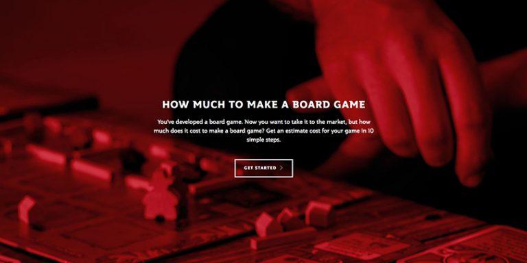 Une plateforme conçue pour vous renseigner sur le coût de fabrication de votre jeu