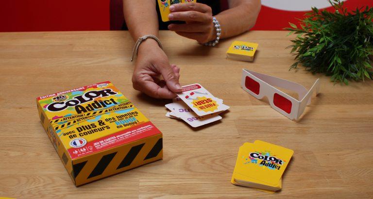 jeu de cartes Color Addict 10 ans