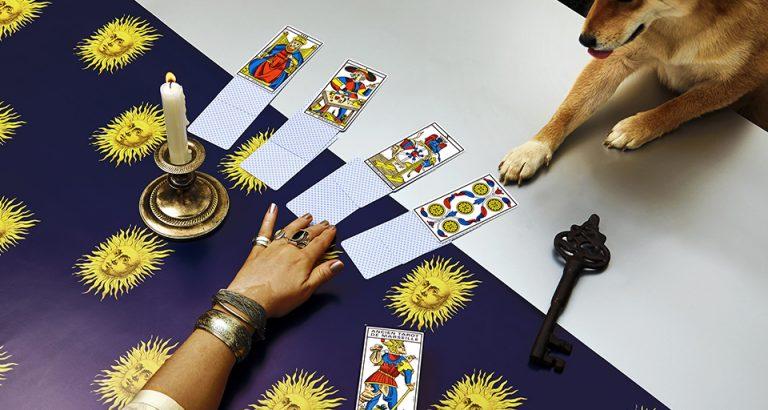 Tirage de cartes avec le Tarot de Marseille Grimaud