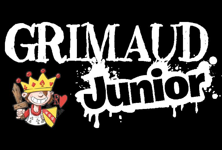 Logo et personnage Grimaud Junior