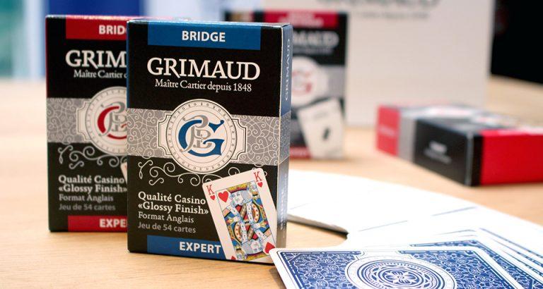 Jeu de 54 cartes Bridge Grimaud Expert