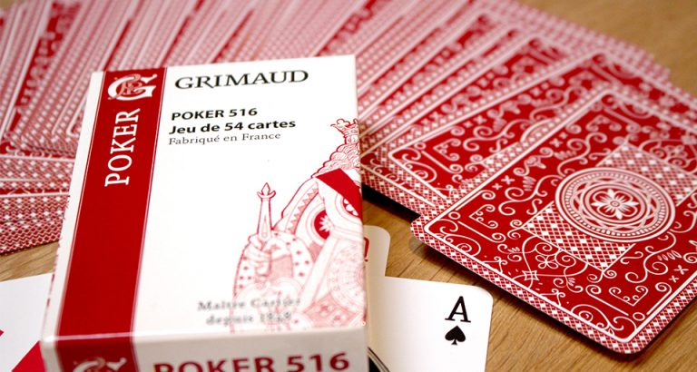 Jeu de 54 cartes Poker Grimaud Origine