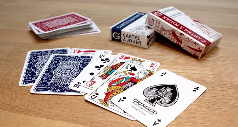 Jeux de 54 cartes Grimaud Origine
