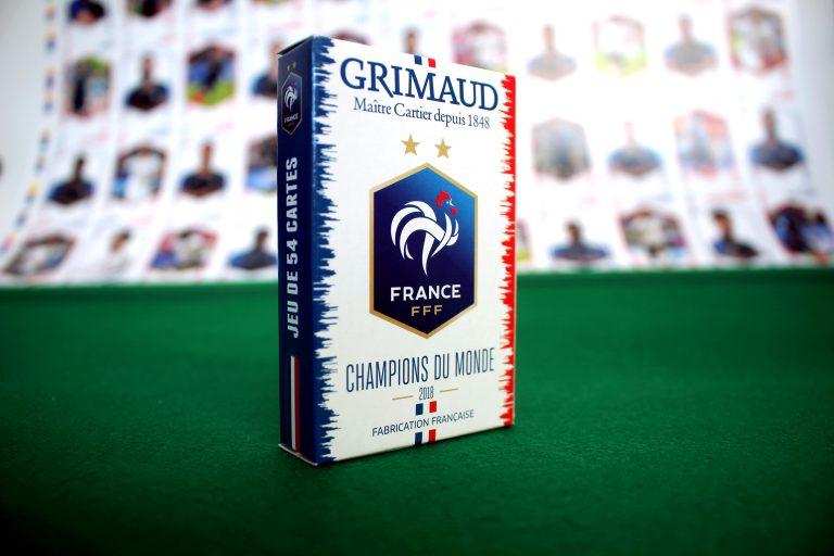 Jeu de cartes Champions du Monde Grimaud