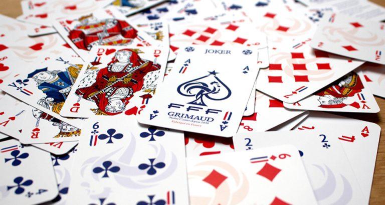 Cartes à jouer traditionnelles Grimaud et FFF