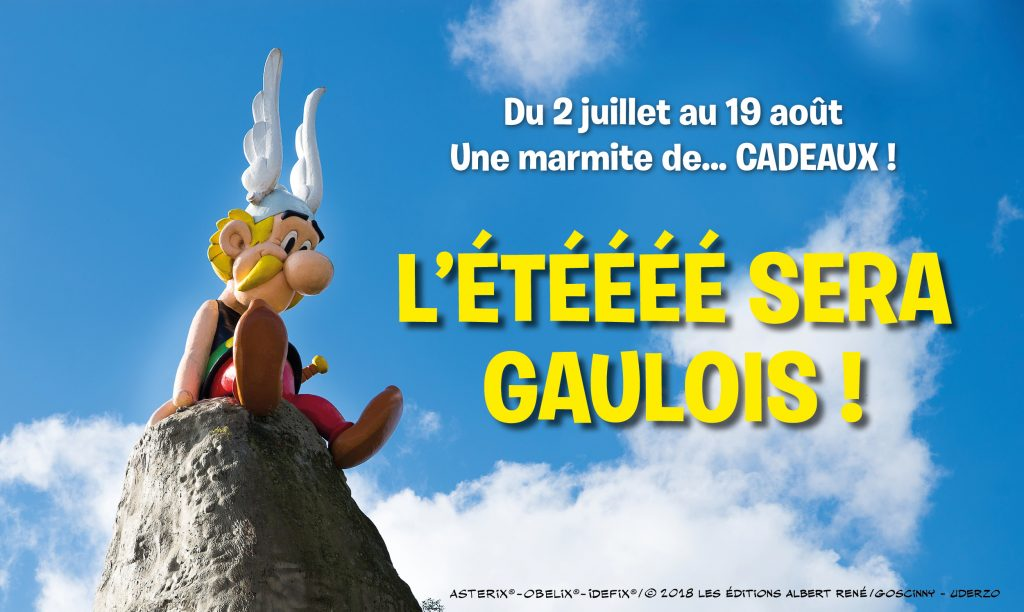 Un été Gaulois sur la page Facebook France Cartes