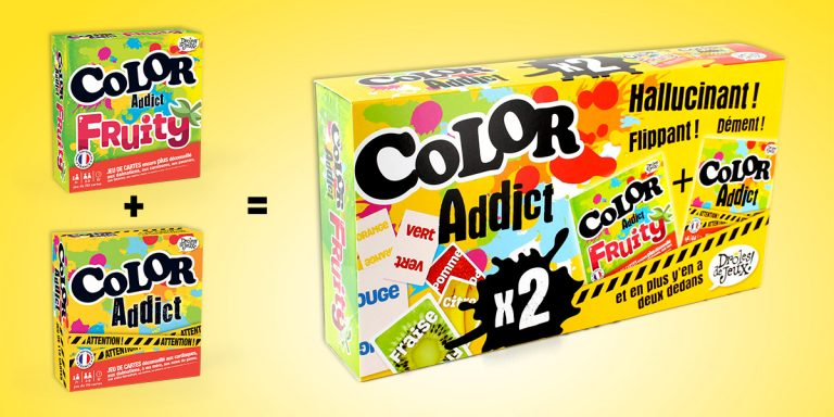 Nouveau : Color Addict + Color Addict Fruity = une Addict Box