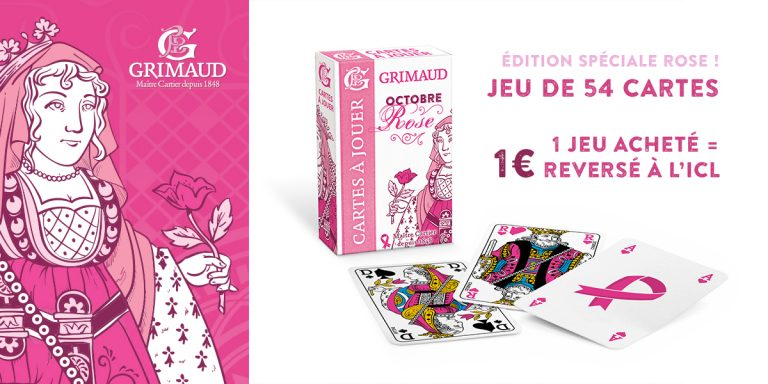 jeu de cartes Grimaud Rose