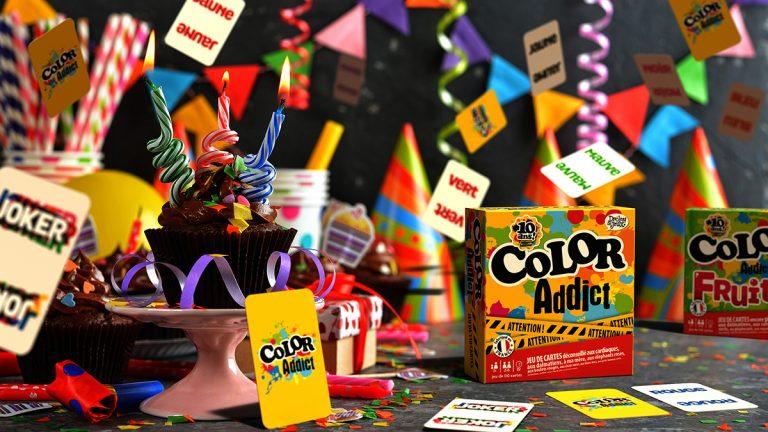 Jeu Color Addict fête son anniversaire 10 ans