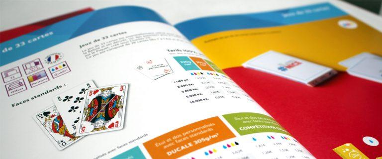 Catalogue promotion de jeux personnalisés 2019