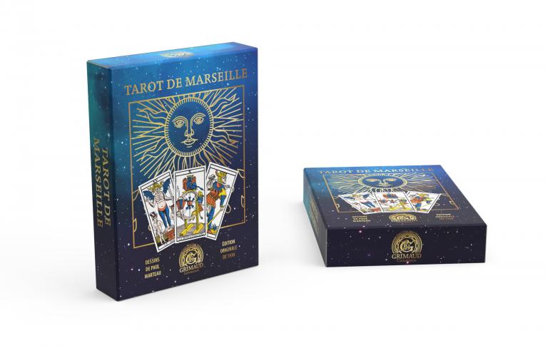 Coffret Tarot de Marseille édition 90 ans Grimaud Cartomancie