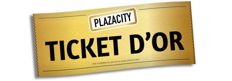 Opération Ticket d'Or PlazaCity avec Stéphane Plaza