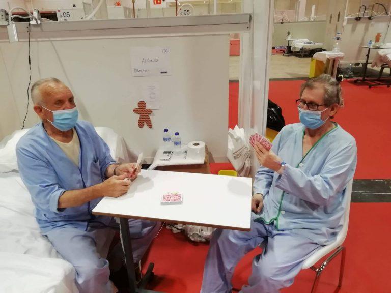 Don de jeux aux hôpitaux en Espagne