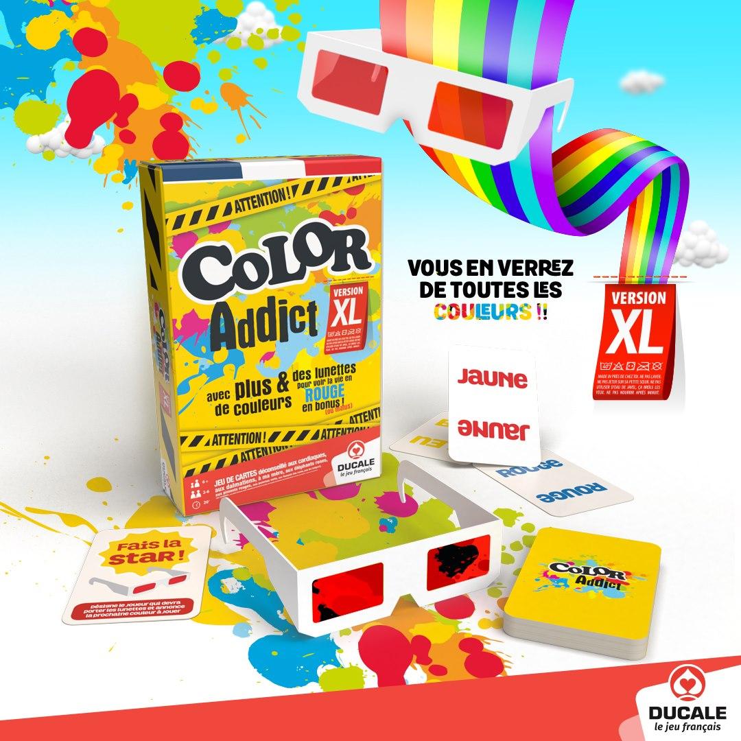 Jeu de société Color Addict XL